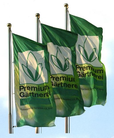 drapeau publicitaire - bannières publicitaires sur drisse