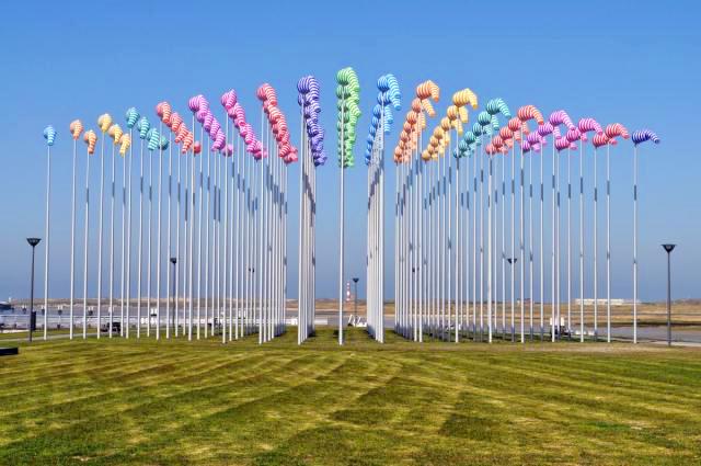 drapeau plv - sculpture de mâts et de manches à air